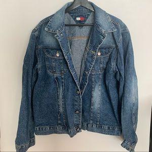 Mens XL Jean jacket Tommy Hilfiger